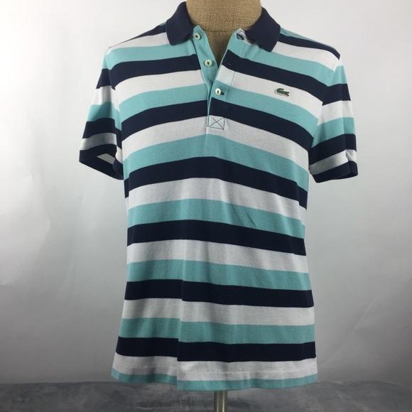 46d6bb72f6 Lacoste Men's Slim Fit Polo Short Sleeve Shirt 6